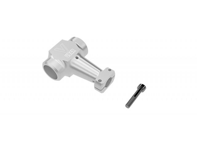 Rotor head yoke, silver -05097
