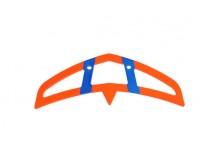 Horizontal stabilizer neon-orange/blue -04625