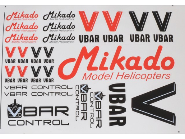 VBar / VControl decal set -04901