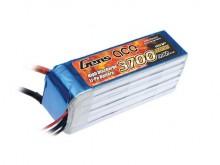 Gens ace 3700mAh 22.2V 35C 6S1P Lipo Battery Pack