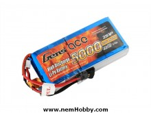 Gens ace 5000mAh 7.4V RX 2S1P Lipo Battery Pack