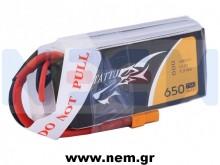 Tattu 650mAh 11.1V 75C 3S1P Lipo Battery Pack