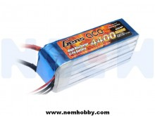 Gens ace 4400mAh 22.2V 45C 6S1P Lipo Battery Pack