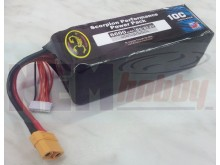 Scorpion 6600mAh 22.2V 10C 6S1P Lipo Battery Pack