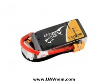 TATTU 1300mAh 11.1V 75C 3S1P Lipo Battery Pack