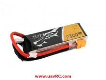 TATTU 2300mAh 14.8V, 45C 4S1P Lipo Battery Pack