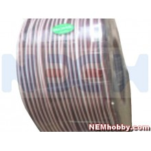 PVC Cable 26AWG Triple x1mtr. -Black/Red/White