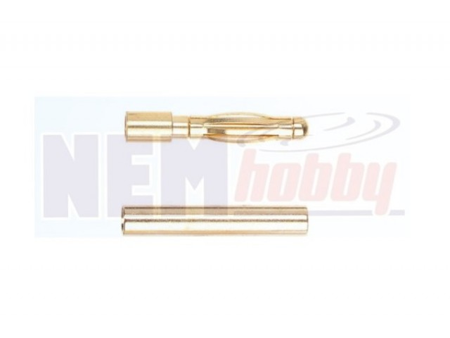 Connector Gold 1.5mm  -Pair