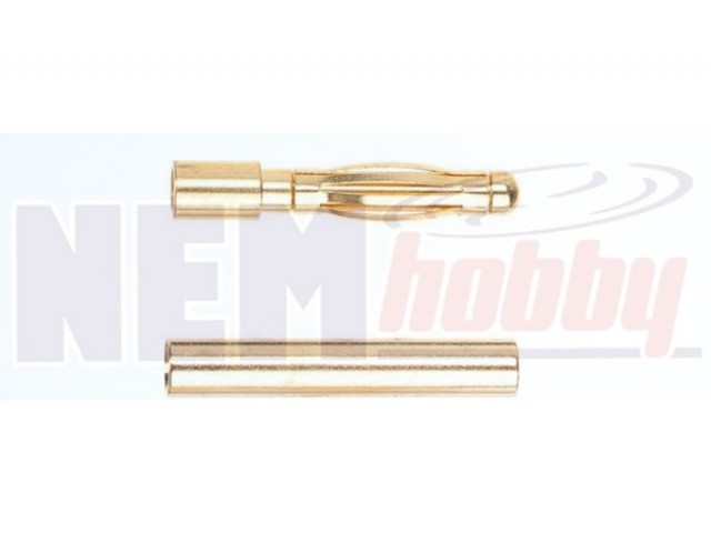 Connector Gold 2.0mm -Pair