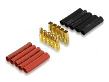 Connector Gold 3.5mm -5x Pairs