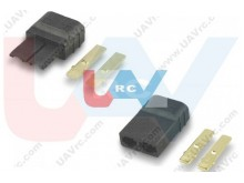 Connector Gold TRX style High-Current -Pair