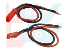 Connector Gold JST style Silicone Cable 10cm -Pair