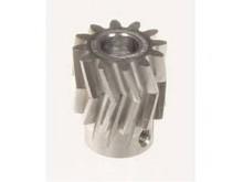 Pinion for herringbone gear 12teeth, M1, dia.6mm -04412