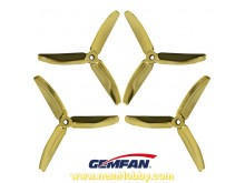 3Blade 5040 Gemfan Master Series 2Pair/4pcs -Ghost Gold