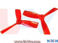 3Blade 5045BN NEM PC Unbreakable Props 2Pair/4pcs -Red