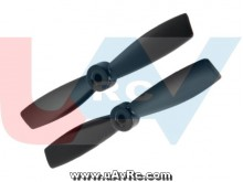 Bullnose 5x4.6 Propeller set CW/CCW -Black
