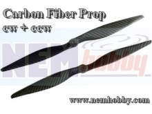 Carbon Fiber 13x4 CW+CCW -Set
