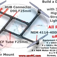 CNC F30mm Motor-Mount
